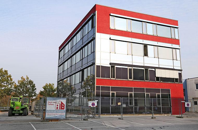 WEKO Verwaltungsgebäude erstellt durch die Fa. Andreas Bauer GmbH