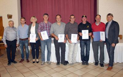 Bauunternehmen Andreas Bauer GmbH ehrte langjährige Mitarbeiter