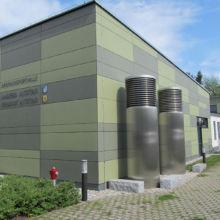 Sporthalle erstellt durch die Fa. Andreas Bauer GmbH