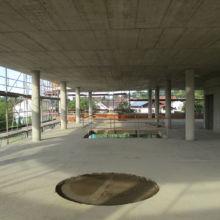 Rohbau eines Geschäftshauses erstellt durch die Fa. Andreas Bauer GmbH