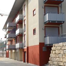 Moderne Wohnanlage erstellt durch die Fa. Andreas Bauer GmbH