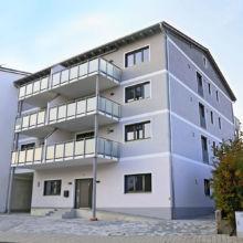 Schlichte Wohnanlage erstellt durch die Fa. Andreas Bauer GmbH