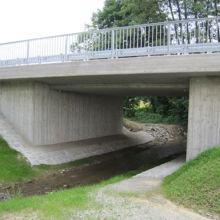Brücke erstellt durch die Fa. Andreas Bauer GmbH