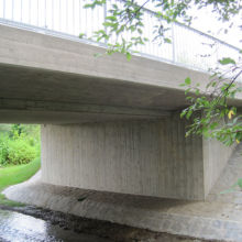 Brücke erstellt durch die Fa. Andreas Bauer GmbH aus einem anderen Blickwinke