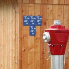 Wasserhydrant aufgestellt durch die Fa. Andreas Bauer GmbH