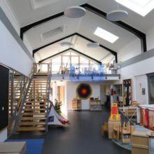 Kindergarten von innen erstellt durch die Fa. Andreas Bauer GmbH