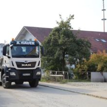 LKW der Fa. Bauer GmbH
