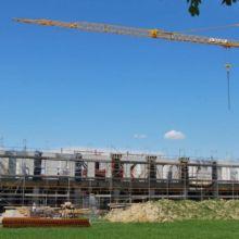Wohn- und Geschäftshaus in der Rohbauphase erstellt durch die Fa. Andreas Bauer GmbH