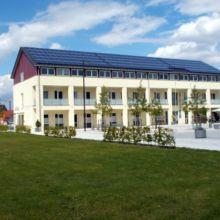 Geschäftshaus erstellt durch die Fa. Andreas Bauer GmbH aus einer anderen Perspektive