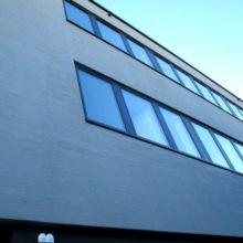 Schlichtes Geschäftshaus erstellt durch die Fa. Andreas Bauer GmbH