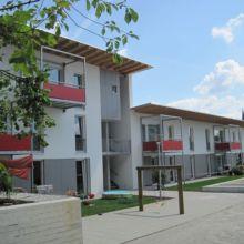 Moderner Wohnkomplex erstellt durch die Fa. Andreas Bauer GmbH