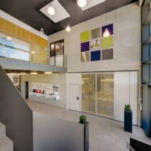 Gewerbebau innen erstellt durch die Fa. Andreas Bauer GmbH