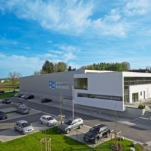 Moderner Gewerbebau erstellt durch die Fa. Andreas Bauer GmbH